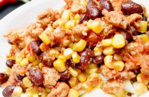 Ground Turkey, Black Bean and Corn Chili