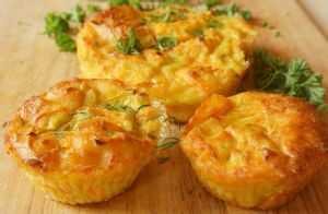 Ham, Egg & Cheese Muffin Cups