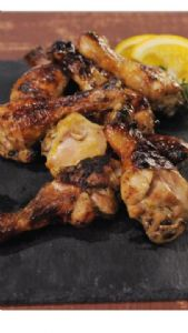 Healthy honey orange chicken drumsticks