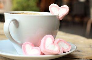Homemade Heart-Shaped Marshmallows