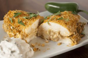Jalapeno Popper Stuffed Chicken Breasts