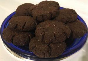 Low Carb Cinnamon Chocolate Coconut Cookies