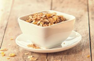 Low-Fat Maple Granola