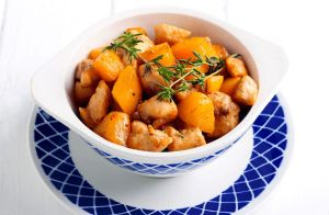 Low-Sodium Apricot Chicken