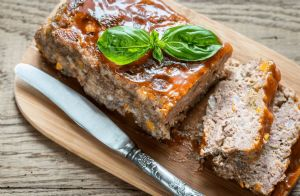 Low-Carb Turkey Meatloaf