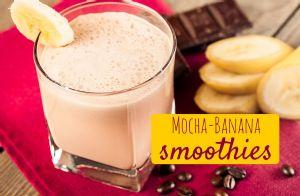 Mocha Banana Smoothies