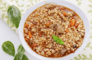 Mom's Famous Beef Barley Soup