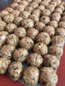 Muesli Protein Balls