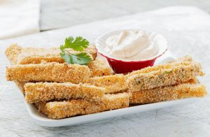 Oven-Baked Zucchini Sticks
