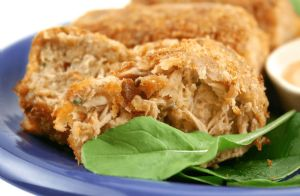 Parmesan Tuna Patties (low fat, low carb)
