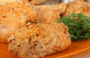 Potato Flake Fried Chicken