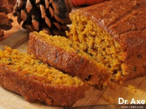 Pumpkin Bread - gluten and sugar free