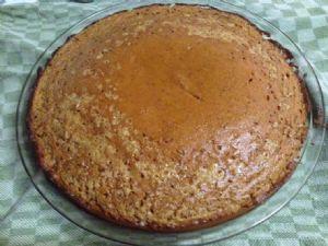Pumpkin Pie Crustless Impossible pie