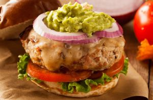 Salsa Turkey Burgers