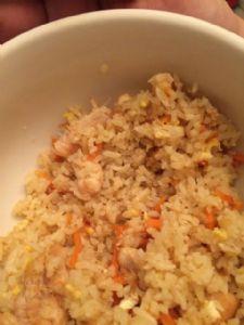 Sherri's homemade chicken fried rice