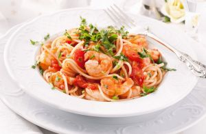 Shrimp & Sundried Tomato Pasta