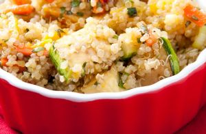 Simple Quinoa and Vegetables