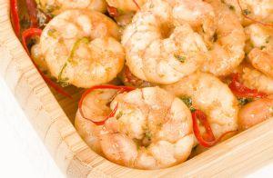 Simple Spicy Garlic Shrimp