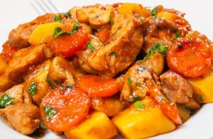 Slow Cooker Chicken Stew