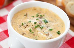 Slow Cooker Healthy Potato Soup