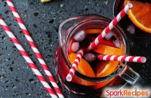 Sparkling Pomegranate Punch