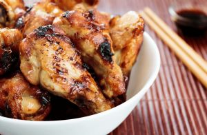Sticky Slow Cooker Chicken Drumsticks