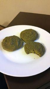 Sugar-Free Matcha Almond Protein Cookies