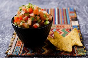 Summer Cucumber Salsa