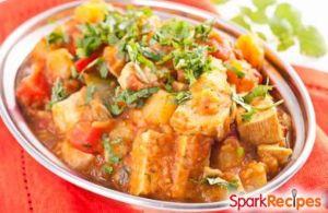 Tofu and Squash Curry