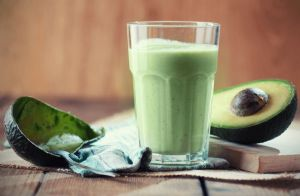 Tropical Avocado Smoothie