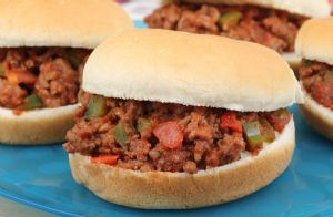 Turkey and Black Bean Sloppy Joes