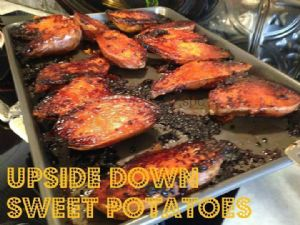 Upside Down Sweet Potatoes CCH