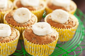 Whole-Grain Banana Muffins