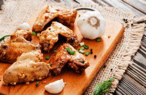 Yummy Garlic Wings