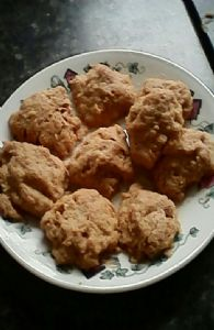 No added sugar Peanut Butter Cookies