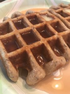 Low-Carb & High Protein Waffles