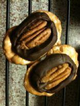 Gourmet Chocolate Caramel Pretzel Cookies