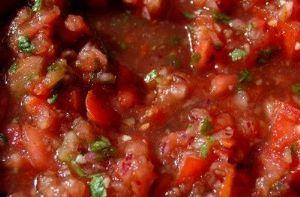 Homemade Salsa (Like Drew's All Natural Salsa!)