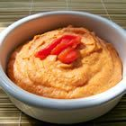 Low fat Garlic Red Pepper Hummus