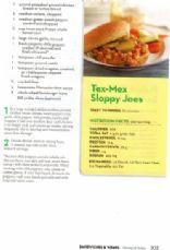 Tex-Mex Sloppy Joes