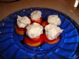 Strawberry shortcake crisps
