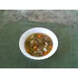 Leftover Beef Vegetable Soup