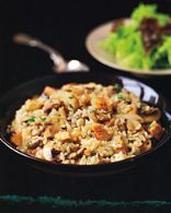 Mushroom and Chicken Risotto