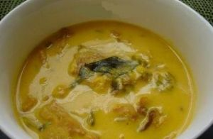 Alka's Fish-Talapia in Kadhi sauce WW=5pts (3/4 cup)