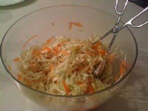 Asian pineapple cole slaw