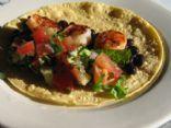 Grilled Shrimp and Black Bean Tacos