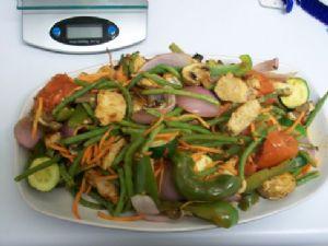 Turkey Cutlet & Roasted Vegetables