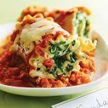 Turkey Lasagna Roll Ups W. Spinach
