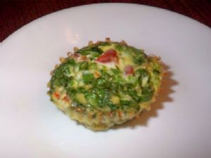 Quiche Vegetable - Cupcake Tin