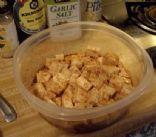 Spicy Marinated Tofu